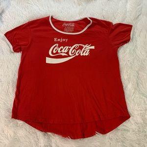 Coca Cola Enjoy Coca-Cola crew graphic t shirt XL